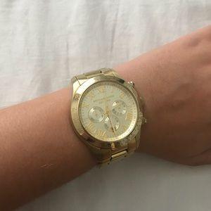 Michael Kors 8214 Chronograph Gold Watch